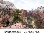 zion national park utah  ...   Shutterstock . vector #237666766