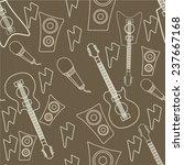 seamless pattern wallpaper of... | Shutterstock .eps vector #237667168