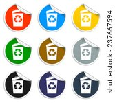 trash can icon  vector eps10...