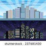 modern urban building cityscape ... | Shutterstock . vector #237681430
