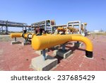 oil field scene  oilfield... | Shutterstock . vector #237685429