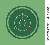 gps navigation on green...