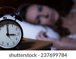 Close Up Of Alarm Clock On...