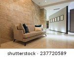 Stock photo modern hotel lobby interior 237720589