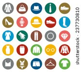 set of clothes icons. clothing... | Shutterstock .eps vector #237730810