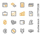 finance web icons set | Shutterstock .eps vector #237739108