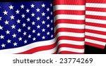 american flag waving | Shutterstock . vector #23774269
