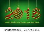 elegant new year 2015 ... | Shutterstock . vector #237753118