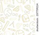 doodle seamless pattern with...   Shutterstock .eps vector #237759214