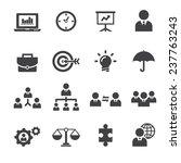 management icon | Shutterstock .eps vector #237763243