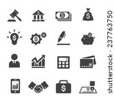 business and finance icon   Shutterstock .eps vector #237763750