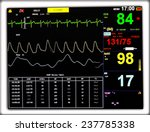 the heart rate monitor | Shutterstock . vector #237785338