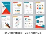business infographics elements... | Shutterstock .eps vector #237785476