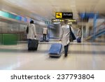 airline passengers at the... | Shutterstock . vector #237793804