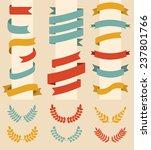 big vector set of laurels and... | Shutterstock .eps vector #237801766
