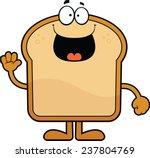 cartoon illustration of a slice ... | Shutterstock .eps vector #237804769