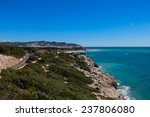 view over sitges from punta de... | Shutterstock . vector #237806080
