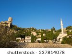 Pocitelj Old Town Near Mostar...