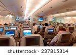 dubai   june 04  airbus a380... | Shutterstock . vector #237815314