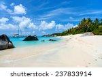 stunning beach with white sand  ... | Shutterstock . vector #237833914