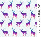 seamless pattern with colorful... | Shutterstock . vector #237841843