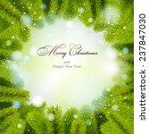 christmas background. christmas ... | Shutterstock .eps vector #237847030