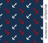 seamless  pattern with anchors... | Shutterstock .eps vector #237853768
