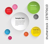 vector color circle design | Shutterstock .eps vector #237870610