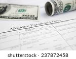 closeup of a medicare... | Shutterstock . vector #237872458