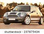 Постер, плакат: Mini Cooper S car