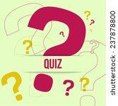 question mark icon. help symbol.... | Shutterstock .eps vector #237878800