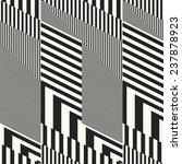 striped geometric ornament.... | Shutterstock .eps vector #237878923