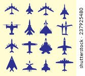 Many Vector Silhouettes Of...