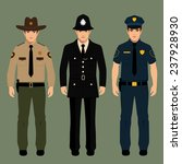 British Policeman And Sheriff...