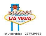 welcome to fabulous las vegas... | Shutterstock . vector #237929983
