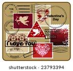 design elements for envelope. ...   Shutterstock .eps vector #23793394