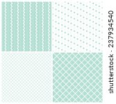 mint geometric seamless... | Shutterstock .eps vector #237934540