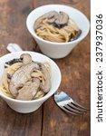 italian spaghetti pasta and... | Shutterstock . vector #237937036