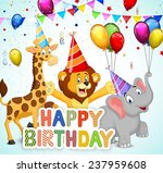 birthday background with... | Shutterstock . vector #237959608