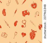 medical seamless pattern | Shutterstock . vector #237961348
