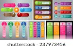 colorful modern text box... | Shutterstock .eps vector #237973456