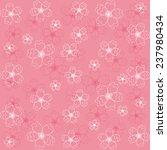 cherry blossom pattern | Shutterstock .eps vector #237980434