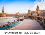 Spain  Seville. Spain Square  ...