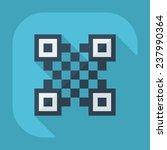 qr code icon | Shutterstock .eps vector #237990364