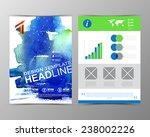 templates for business... | Shutterstock .eps vector #238002226