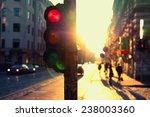 Traffic Lights At Night...