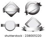 illustration of four designs of ... | Shutterstock .eps vector #238005220