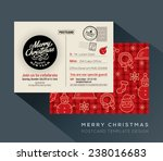 christmas and happy new year... | Shutterstock .eps vector #238016683