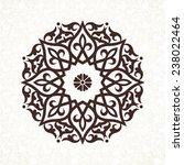 vector vintage pattern in... | Shutterstock .eps vector #238022464