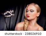 venetian ball  beauty portrait | Shutterstock . vector #238026910